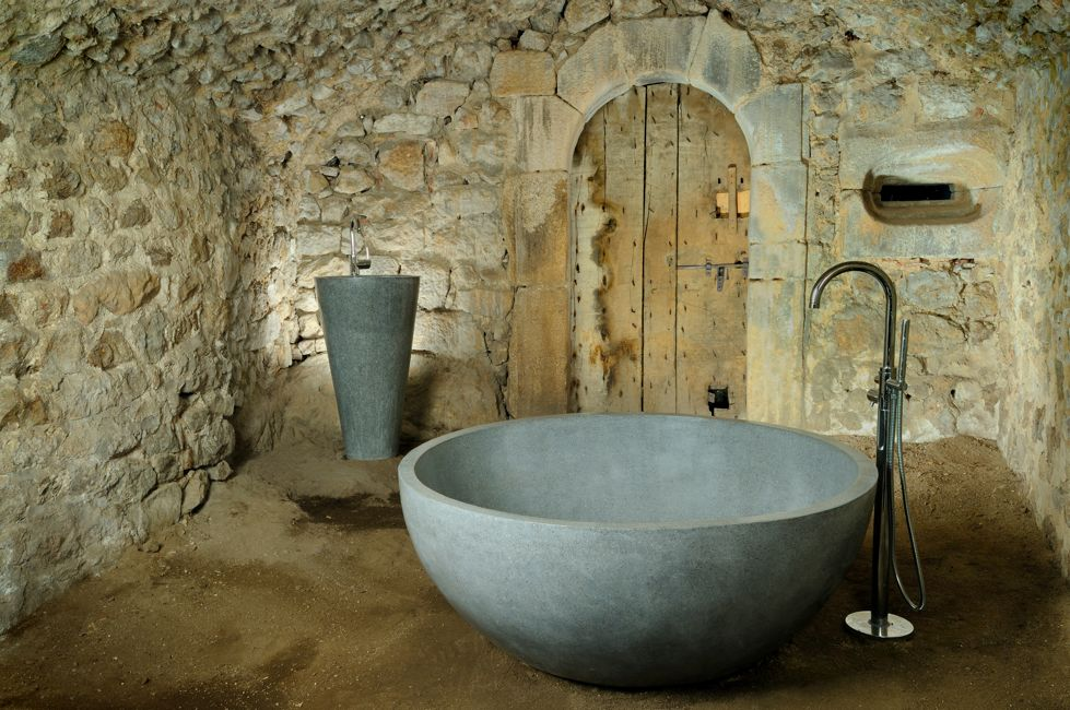 stilbain salles de bain terrazzo bath ronde